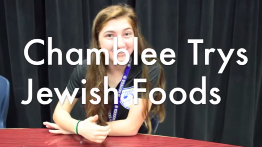 Chamblee Students Try Jewish Food