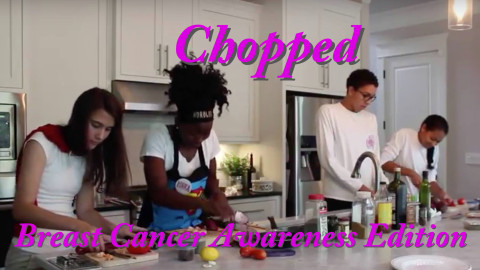 Chopped: Breast Cancer Awareness Edition