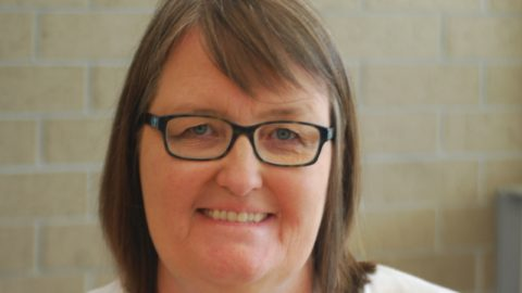 Math Teacher Kelly Adam Trades Cyberspace for Chamblee