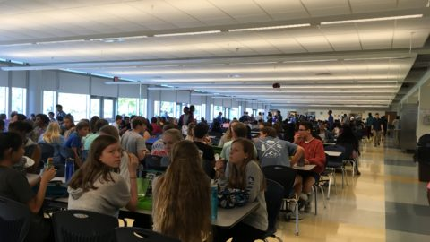 Students and Staff Adjust to Shorter Lunches