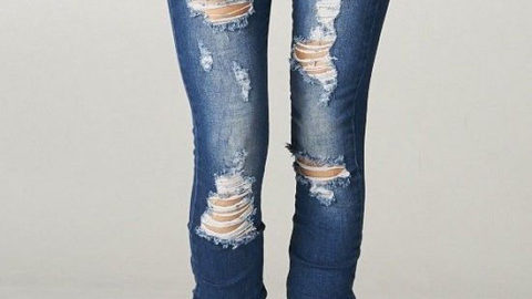 Distressed Teens Bemoan Lack of Distressed Jeans