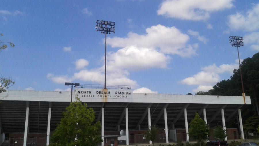 North DeKalb Stadium. Photo by Caitlin Kirk.