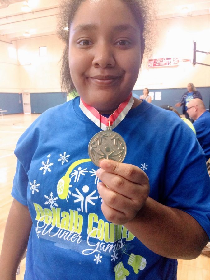 Student Wins Gold Medal at State Special Olympics