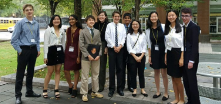 Model Students Attend First Model U.N. Conference