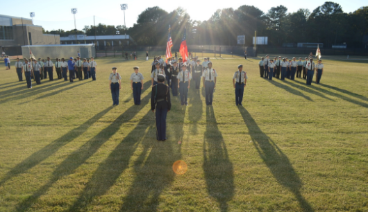 JROTC Program Focuses on Community, Students' Futures