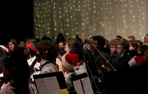 Band, Orchestra, and Chorus Team Up for Centennial Winter Concert