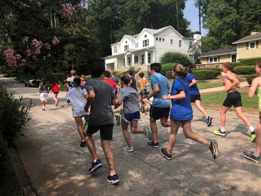 Chamblee Cross Country Team Striving for Excellence
