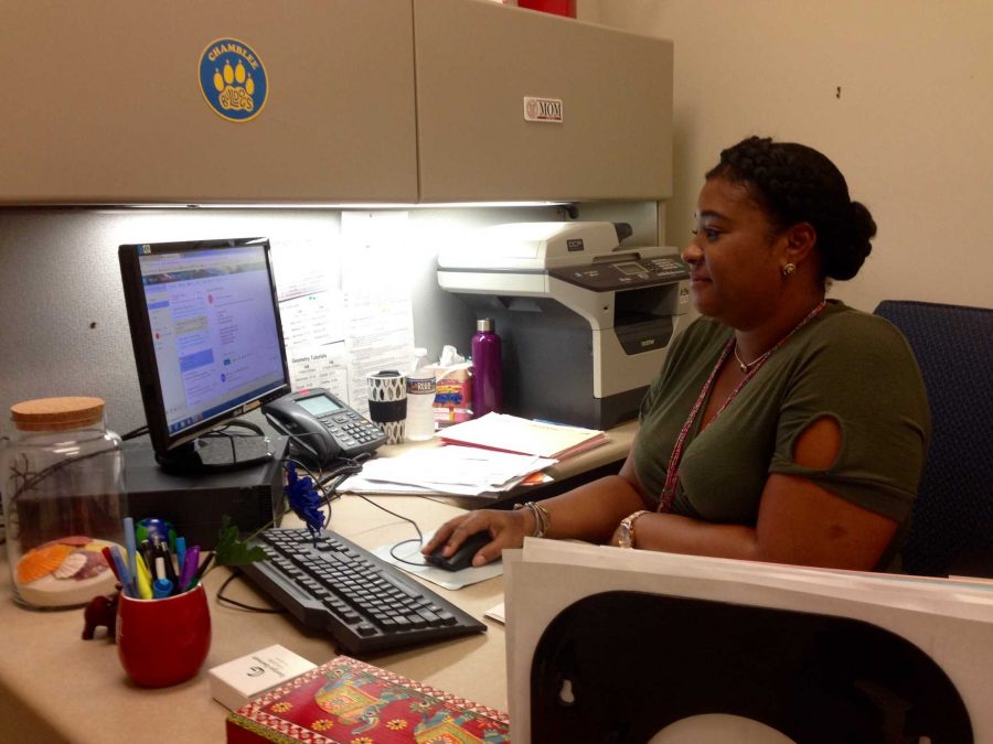 New Counselor Latorre Lends a Hand
