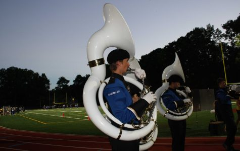 Sousaphone Section Steals the Show