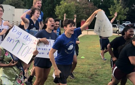Seniors Dominate in Powderpuff Games