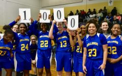 Chamblee Senior Drops Jaws and Points