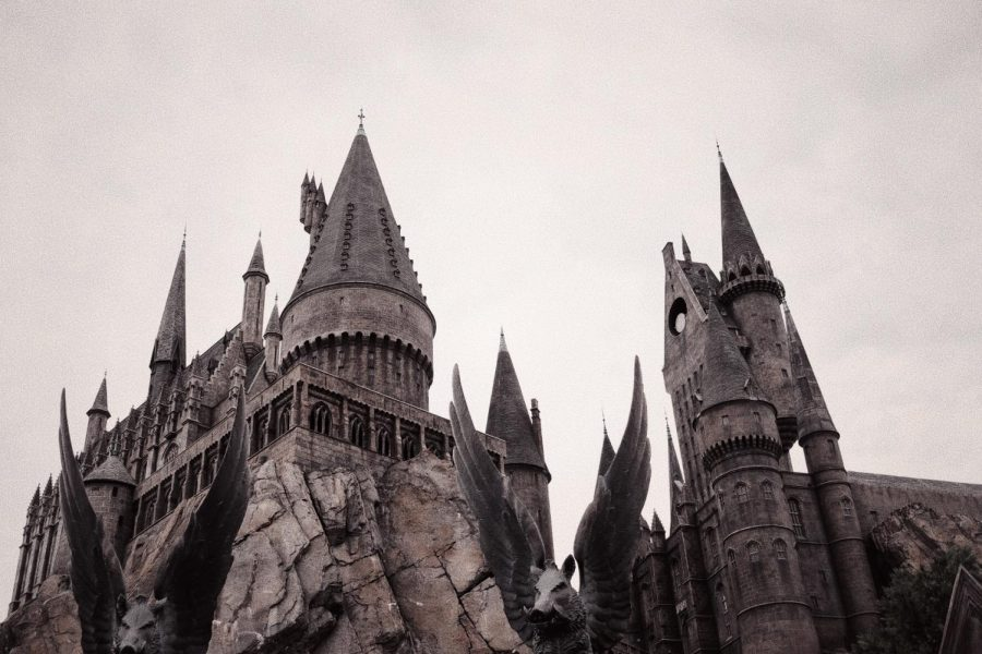 Hogwarts+at+Universal+Orlando%27s+Wizarding+World+of+Harry+Potter.+