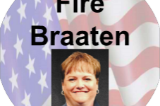 "Freshman Reprimanded for Wearing ""Fire Braaten"" Stickers Brings Lawsuit Against CCHS Admin, DCSD"