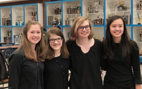 Band Students Bring CCHS to District Stage