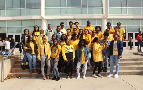Colorful T-Shirts Unite Students During Black History Month