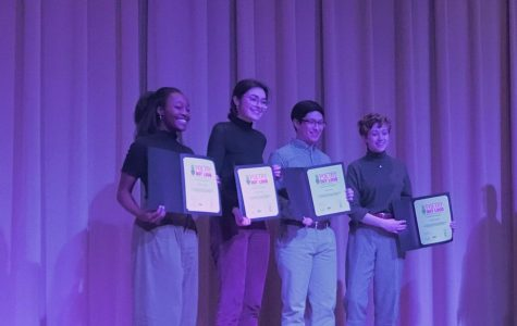 Veazey Claims Victory at Poetry Out Loud