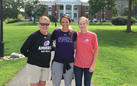 Rachel Lovejoy Slides Home with Amherst Recruitment