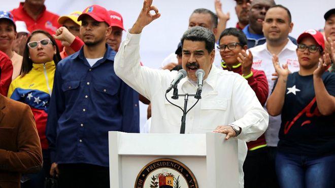 Nicol%C3%A1s+Maduro+in+Venezuela.