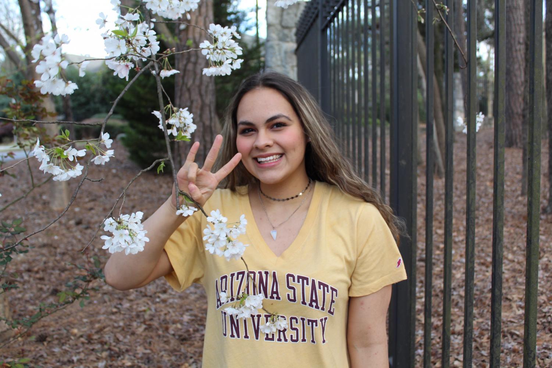 Senior Jadé Foelske looks forward to swimming at Arizona State University.