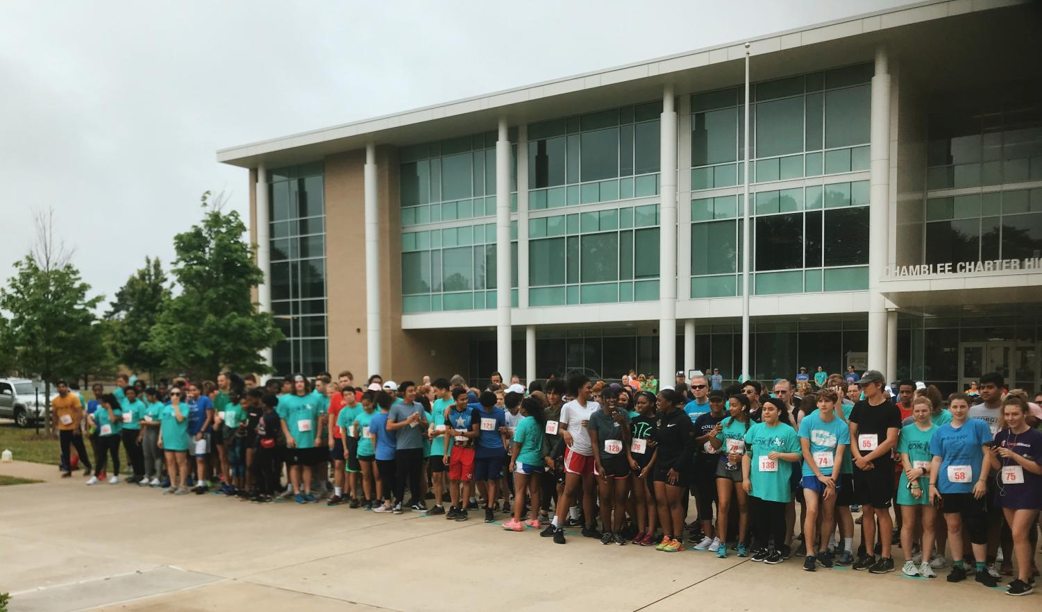 CCHS Comes Together For the Cox Trot