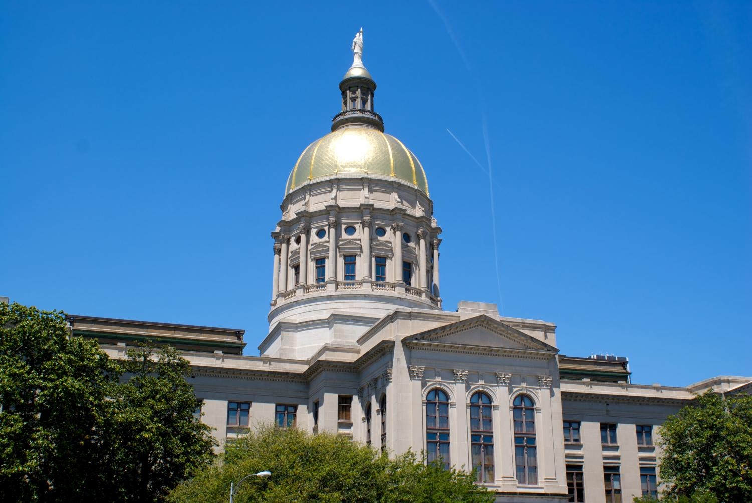The Georgia State Capitol.