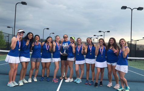 Chamblee Tennis Serves L's and Takes State