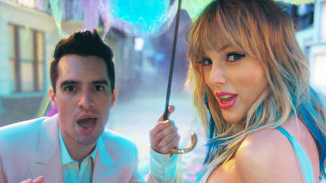 Taylor+Swift+and+Brendon+Urie%27s+single+%22ME%21%22+is+out+now+as+of+April+26.