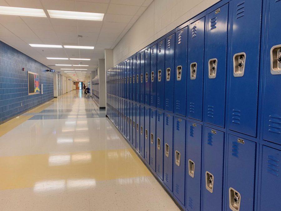 The hallways of CCHS.