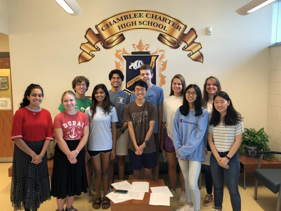 NMSQT+Semi-Finalists+pose+for+a+picture.+%28From+left+to+right%3A+Layla+Dhabaan%2C+Emily+Adams%2C+Hudson+McGaughey%2C+Ritu+Reddy%2C+Anish+Jaisinghani%2C+Connor+Lin%2C+Drew+Council%2C+Debbie+Kitzler%2C+Shanru+Xu%2C+Brenna+Turner%2C+Rachel+Choi%29