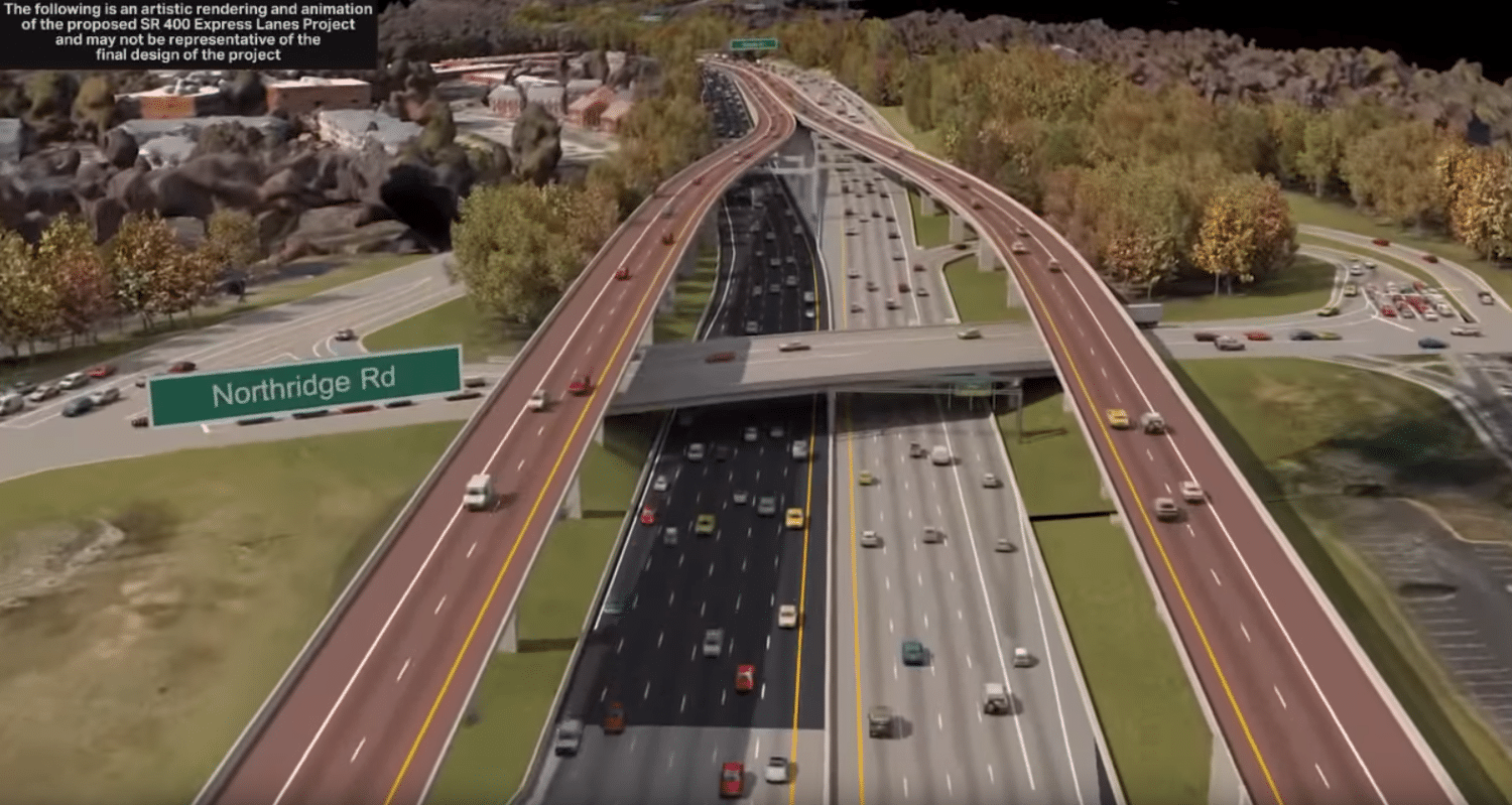 Public Expresses Their Concerns For Proposed Express Lanes on I-285 and GA-400