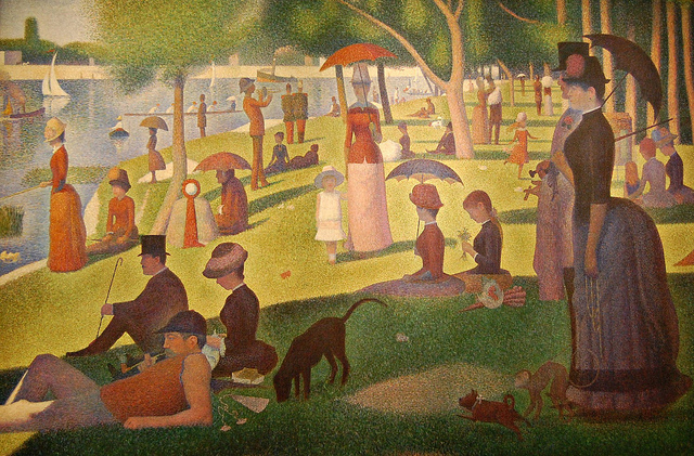 George+Seurat%27s+A+Sunday+Afternoon+on+the+Island+of+La+Grande+Jatte%2C+which+the+musical+is+based+on.