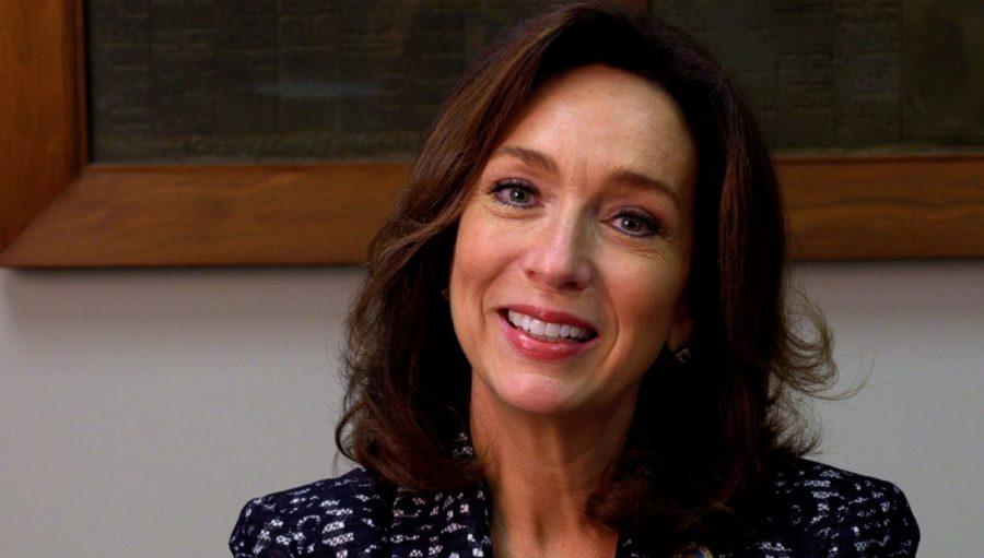 2020+Senate+hopeful+Teresa+Tomlinson+smiles+for+the+camera.+