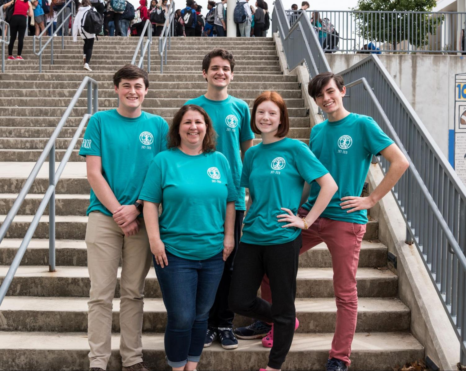 Pursuing a leadership role in your junior year, such as these Interact officers, is a sure way to improve your junior experience.
