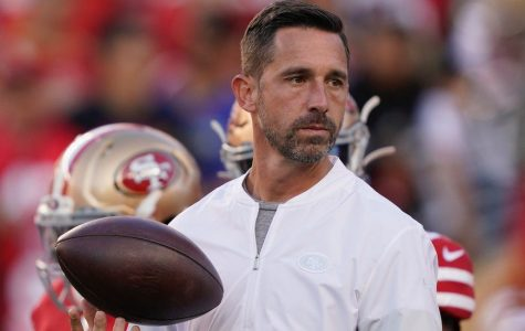 Kyle Shanahan leading the San Francisco 49ers.