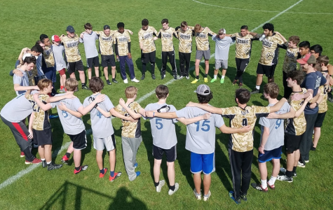 Chamblee players in a spirit circle during the 2019 Spring season, according to their website.