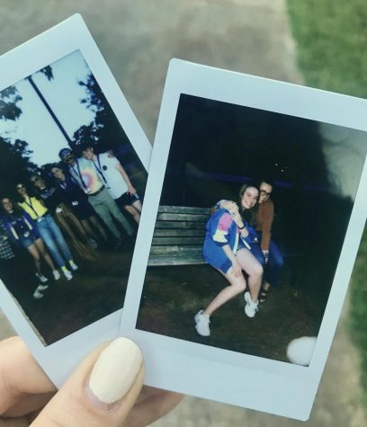 Polaroids that junior Lucy Roberts reminisces on from last year