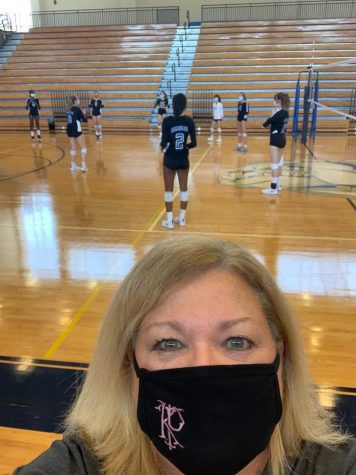 """Setting"" Up for Success: Volleyball Coach Earns 300th Win"