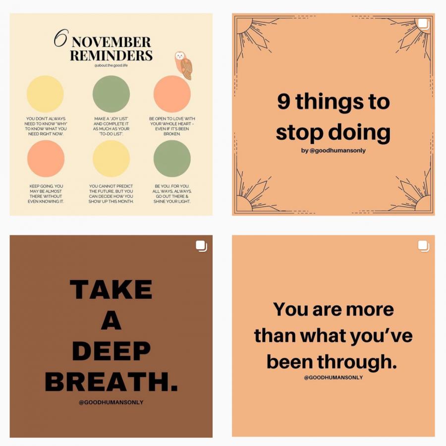 Recent posts from the @mentalhealthatchamblee Instagram account