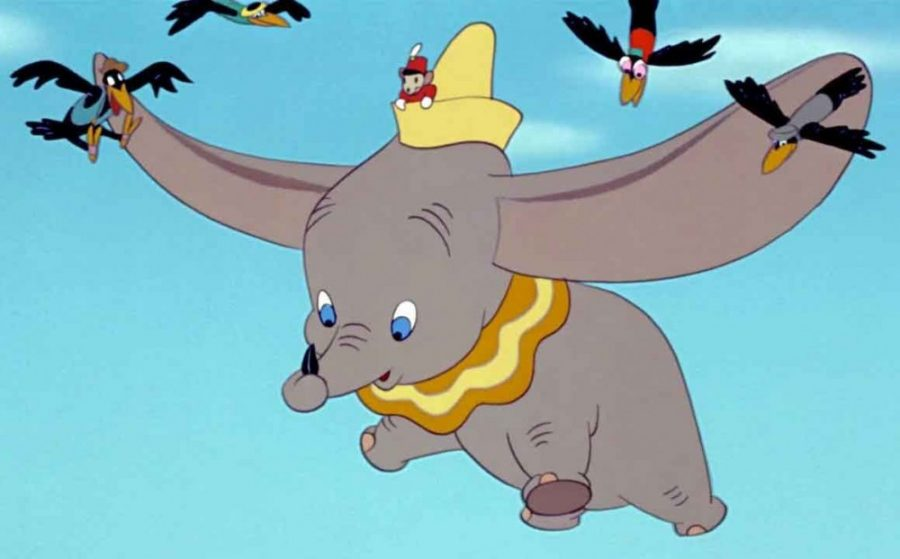 Animation from the 1941 Dumbo movie.