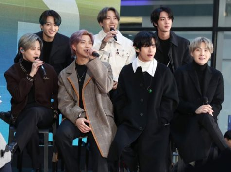 BTS, the most widely renown K-pop group around the world currently, performs on the 'Today' Show at Rockefeller Plaza.
