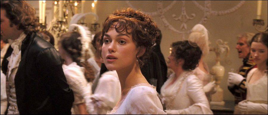Keira Knightley as the precocious Elizabeth Bennet in