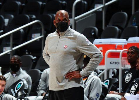 Hawks head coach Nate McMillan.