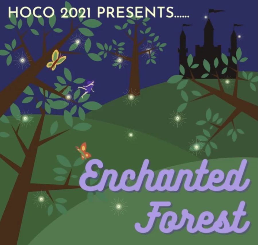 Enchanted Forest: Homecoming Week Festivities