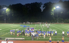Chamblee Bulldogs before dominating the Dunwoody Wildcats on the Field