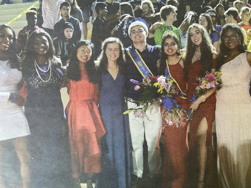The 2019 Chamblee homecoming court